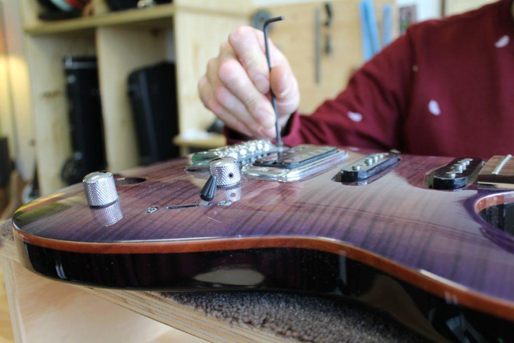 Set up gitaarreparatie door Zandbergen Guitars